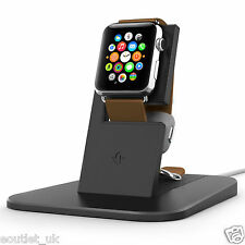 Doce South HiRISE Soporte de carga/Cuna Cargador para Apple Watch iWatch Negro