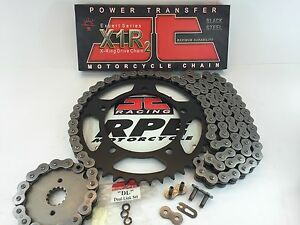 YAMAHA XV250 V-STAR 250 2008-17  JT X-Ring CHAIN AND SPROCKETS KIT  ROUTE 66
