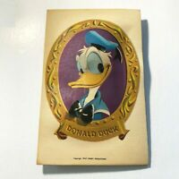 Disneyland Vintage Unused Postcard Art Corner Donald Duck Squeaker circa 1960