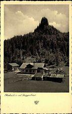 1942 Stempel Rottach Eggern AK Berg-Gasthaus Riederstein alte Postkarte DR 1942