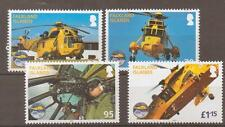 FALKLAND ISLANDS SG1185/1188 2011 ROYAL AIR FORCE SEARCH & RESCUE MNH