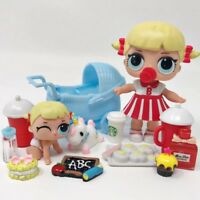 LOL SURPRISE DOLLS Cheer Captain & Lil Cheer COLOR CHANGER *No Chinese Fakes New