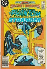 Secret Origins #10 Phantom Stranger Alan Moore Newsstand Dc 1987 Nice!