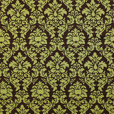 """MICHAEL MILLER """"DANDY DAMASK"""" Pistachio DOBBY by the 1/2 yard"""