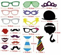 58 Party Props Photo Booth Moustache Birthday Engagement Wedding Funny