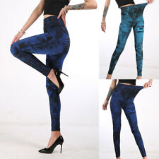 Nuevo Mujeres Pantalones Cintura Alta Vaquero Ajustado Rasgada Elástico Pantalones Vaqueros Slim S-3XL