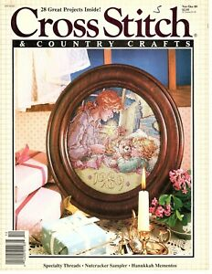 Cross Stitch and Country Crafts December 1989 - Nutcracker Sampler - 28 Projects
