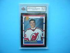1990/91 SCORE NHL HOCKEY CARD #439 MARTIN BRODEUR ROOKIE KSA 6.5 EX/NM+ SHARP+