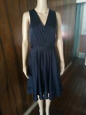 BANANA REPUBLIC MIDI WAIST DRESS SMALL