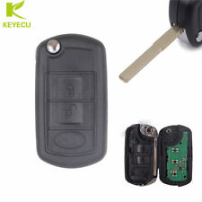 3B Uncut Folding Remote key Fob 315MHz ID46 Chip for Land Rover Discovery 3/ LR3