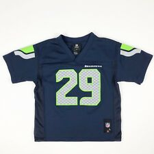 36051ba7d NFL Team Apparel Kids Size Child 7 Large Seattle Seahawks Jersey #29 Thomas
