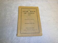 Vintage Allan Troy Chess Book-1907 Year Book of Chess-MB#5
