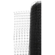 Black Polypropylene Deer Fence 7 x 100 ft. Garden Crop Plastic Barrier Fencing