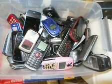 Lot Of 74 Used Cell Phones Kyocera Nokia Samsung Motorola Flip Phones As Is