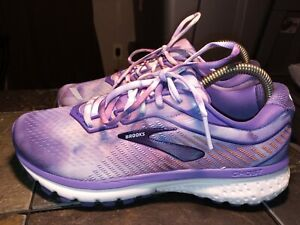 Women's Brooks Ghost 12 Empower Her Collection Size 7.5 PURP/Blu