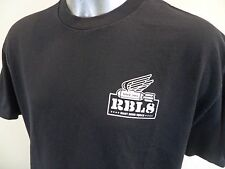 Rebel 8 Eight Giant Bomb Squad XL T Shirt RBL8 Since 2003 Excellent Used Cond