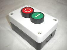 Start Stop Stazione 2 Push Button momentaneo Remoto Controllo Starter