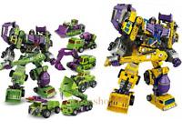 NBK Transformers Devastator Transformation Oversize Action Figure Boy Xmas Toy