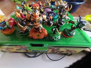Skylanders figures Bundle with case and portal, joblot some rare creatures game