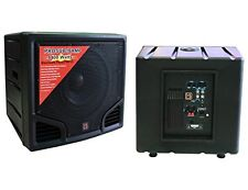 Mr. Dj PRO-SUB15AMP 15-Inch 5400W Max Peak Self-Powered Active Subwoofer