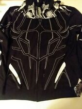 BLACK PANTHER HOODIE WITH EARS & CLAW PATTERN + COLORING BOOK - FREE SHIPPING