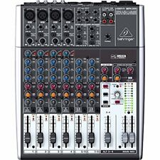 Behringer Xenyx 1204USB 12-Input 2/2-Bus Mixer Mic Preamp USB/Audio Interface