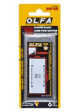 OLFA BSF-6B 100MM HEAVY-DUTY SCRAPER FLEXIBLE BLADES FOR OLFA BSR-200, BSR-300