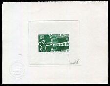 Nouvelle Caledonie  1971 - Tir à l'Arc ,Yvert# PA123 - Epreuve  d'artiste ,Signé