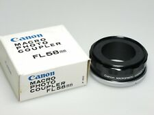 Canon Macro Photo Coupler FL 58mm