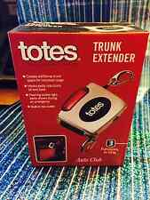 TOTES TRUNK EXTENDER /box cutter /flashing light new in box