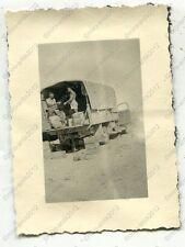 Foto, Wehrmacht, LKW, Afrikakorps, DAK, Erinnerungen an Afrika, l 1151