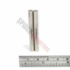 100 Small Magnets 5x1 mm Neodymium Disc strong round craft magnet 5mm dia x 1mm