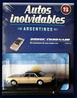 DODGE CORONADO (1973) - Unforgettable Cars 1:43 Diecast # 71 SALVAT ARGENTINA