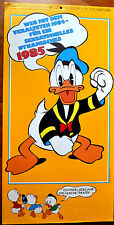 Calendario 1985 PAPERINO DONALD DUCK in tedesco german version
