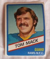 TOM MACK - 1976 TOWN TALK BREAD #10 LOS ANGELES RAMS - RARE!!!