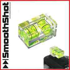 TWO AXIS DOUBLE BUBBLE SPIRIT LEVEL FLASH HOT SHOE MOUNT FOR DSLR CAMERA