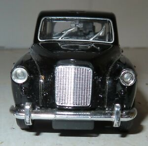 WELLY AUSTIN LONDON TAXI BLACK DIE CAST METAL MODEL FX4 Pull Back Toy Car Used