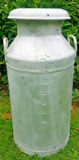 More details for milk churn vintage 10 gal.kirby & west ltd leicester on lid inc delivery!