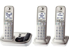 Panasonic KX-TGD223N DECT 6.0 Plus Cordless Phone System w/ Talking Caller ID