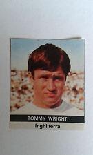 1970 Tommy Wright Everton Adesivo solo rilasciato in Italia dalla radio corriere