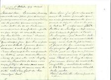 Lettre d'un père à son fils soldat /  6 octobre 1915
