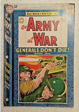 Our Army at War #147 ! DC 1964 ! JOE KUBERT SGT ROCK ! NICE PAGES ! hayfamzone