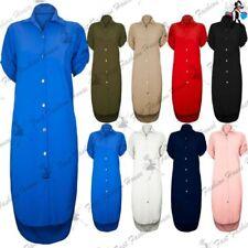 Collar Oversize Shirt Dresses for Women