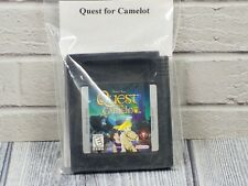 QUEST FOR CAMELOT Cartridge Nintendo Gameboy Color Game US Version