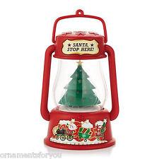 Hallmark 2013 Santa Signal Lantern  Magic Ornament
