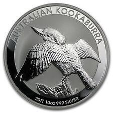 2011 Australia 10 oz Silver Kookaburra BU - SKU #59008