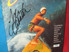 Tom Carroll's Surfing the World ~ Tom Carroll.  SIGNED  FRAME the COVER! aWeSoMe