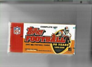 2005 TOPPS FOOTBALL FACTORY SEALED SET **SEE SCANS** RODGERS ROOKIE!