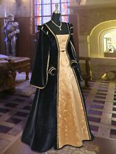 Renaissance Dress Tudor Costume Masquerade Ball Noble royal Clothing Garb LOTR