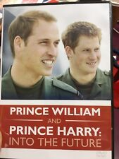 Prince William And Prince Harry - Into The Future region 2 DVD (documentary)